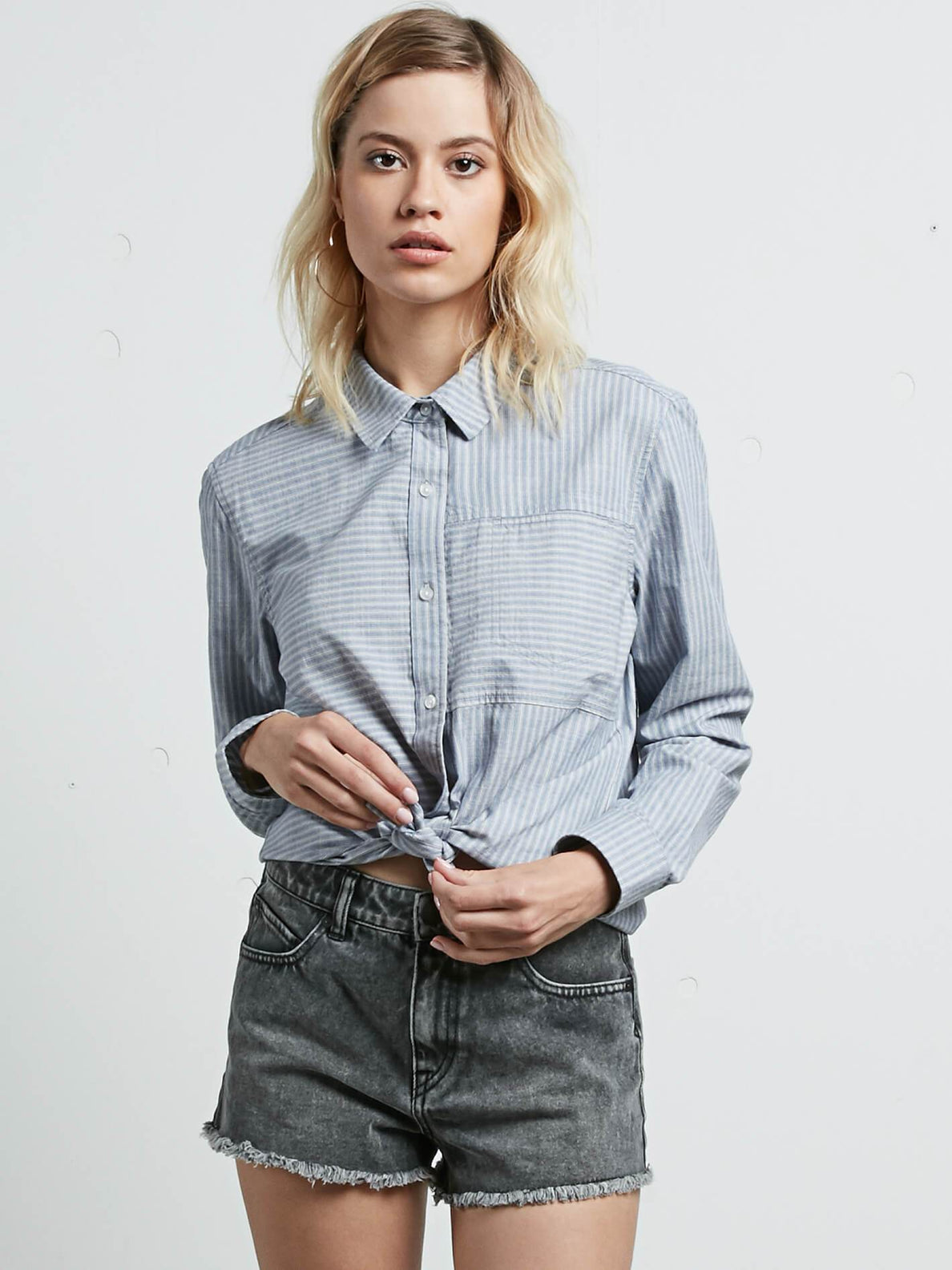 Cham Stripe Long Sleeve Shirt - Stripe
