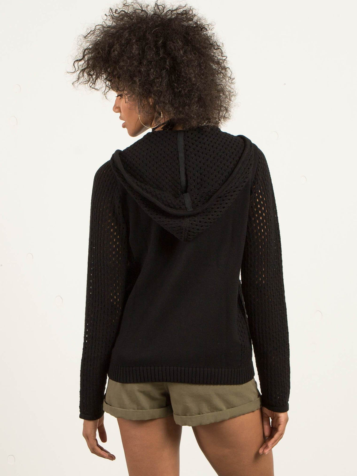 Hey Meshter Sweater - Black