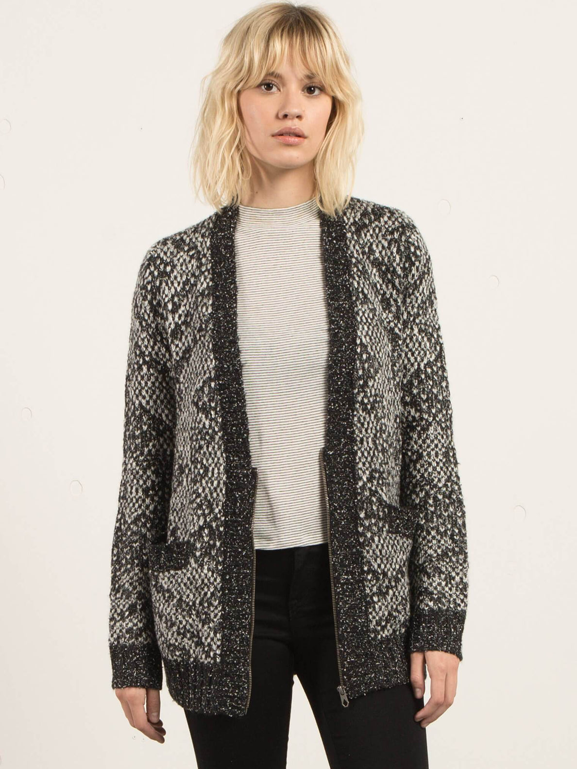 Grampaw Cardigan - Black