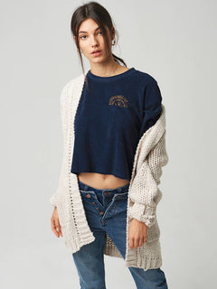 Knitstix Pullover - Oatmeal