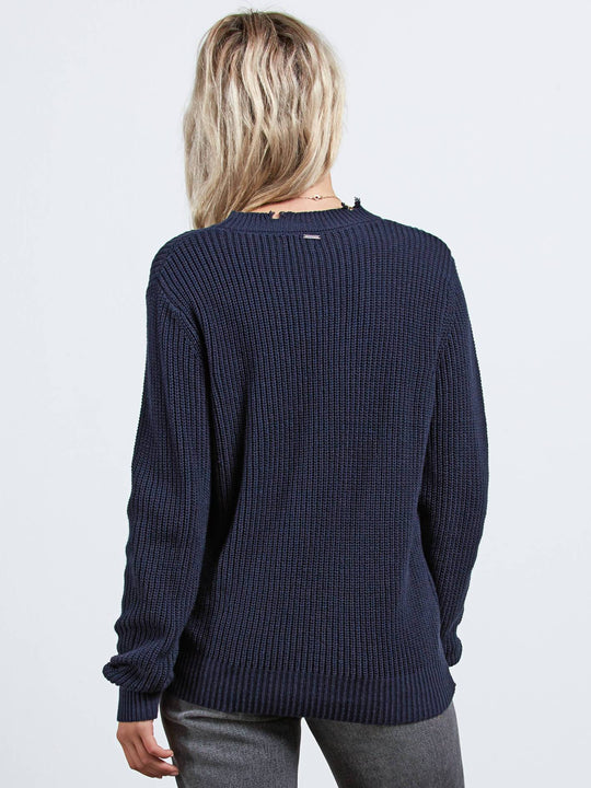 Snatch Pullover - Sea Navy