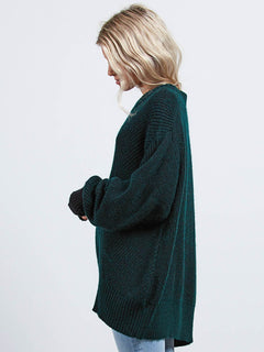 Stormy Pullover - Evergreen