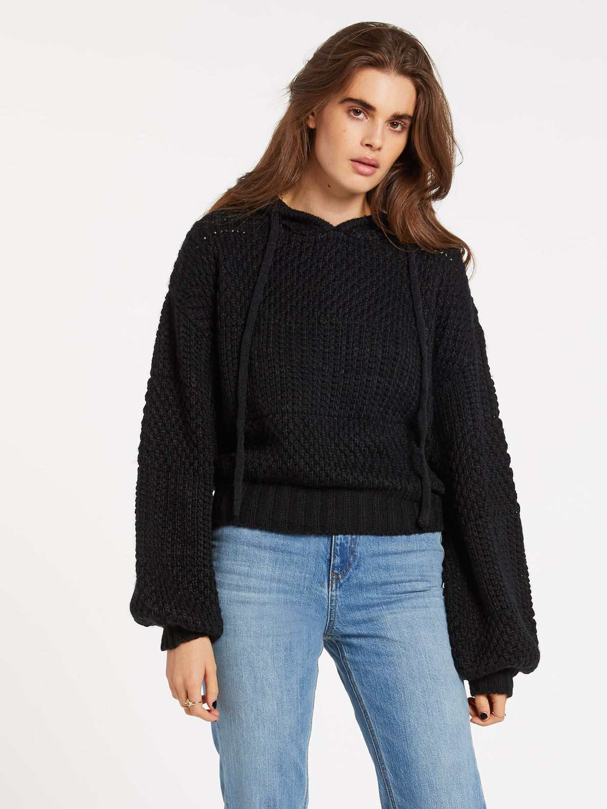 STONEY BEACH SWEATER (B0732005_BLK) [F]