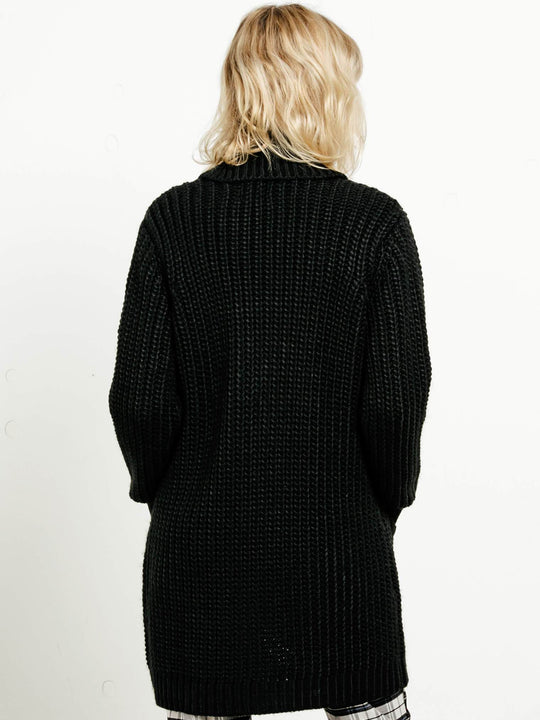 GMJ Long Cardigan - Black