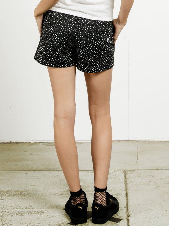 Frochickie Shorts - Black Print