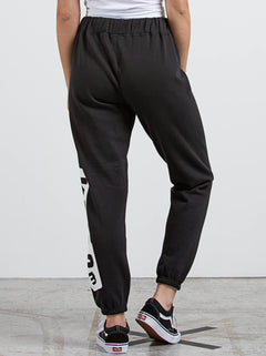 Vol Stone Fleece Trousers - Black