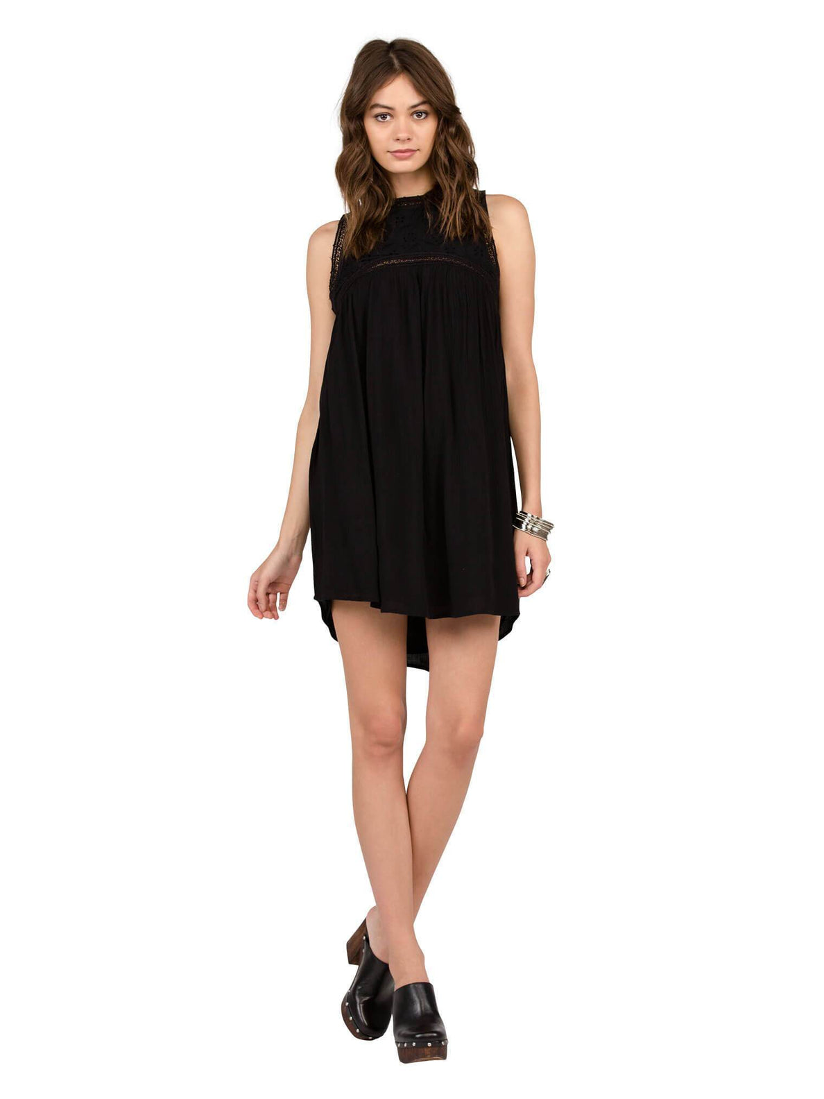Sunset Path Dress - Black