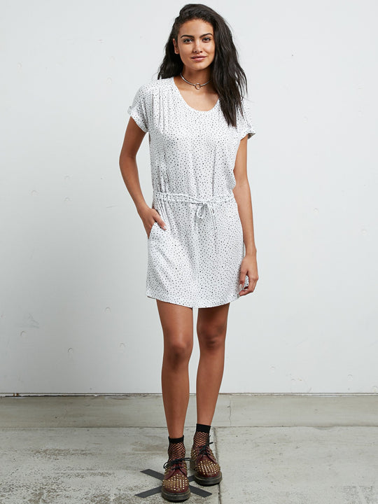 Mix A Lot Dress - Star White
