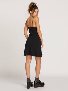 Gmj Cami Skater Dress  - Black