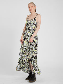Thats My Type Maxi Dress - Lime (B1312107_LIM) [F]