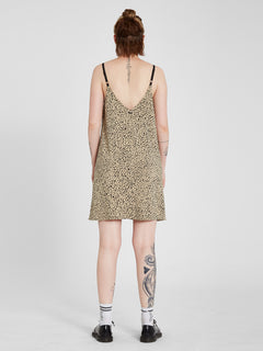 High Wired Cami Dress - Animal Print (B1312113_ANM) [4]