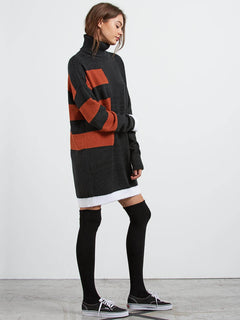 Cold Band Dre Dress - Black