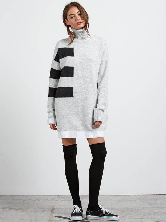Cold Band Dre Dress - Heather Grey