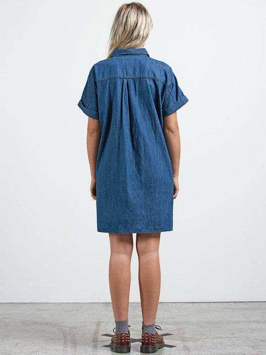 Yo Shortie Dre Dress - Flight Blue