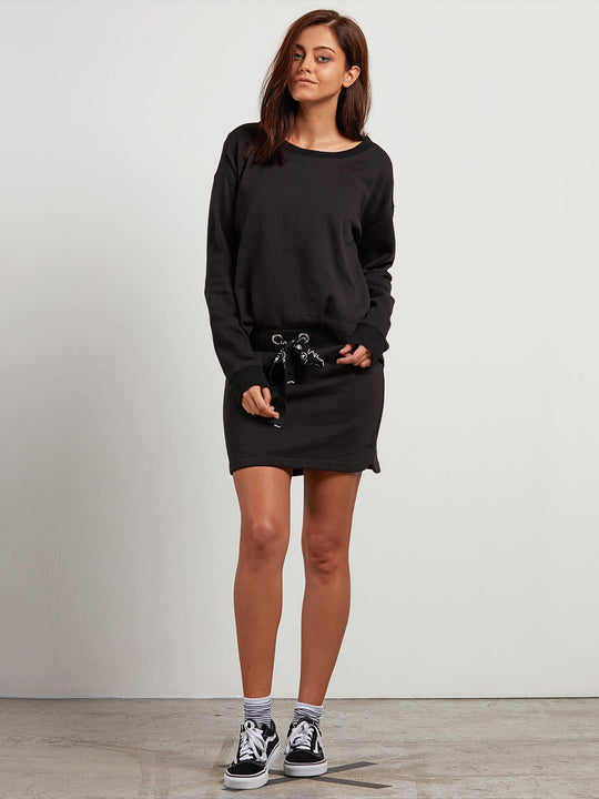 Lacy Dre Dress - Black