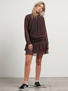 Zebom Dre Dress - Burgundy