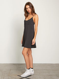 Want My Luv Cami Dress - Black