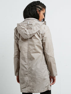 Cyclone Parka - Light Grey