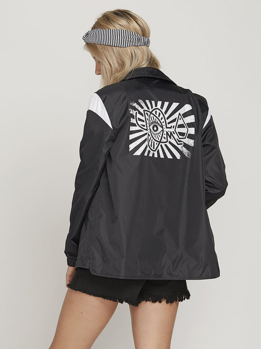 Coah Up Jacket  - Black