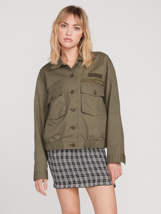 ARMY WHALER JACKET (B1512000_ARC) [F]