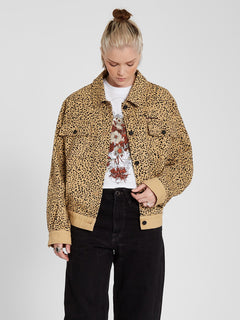 High Wired Jacket - Animal Print (B1512103_ANM) [F]