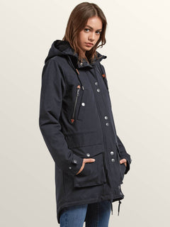 Walk On By Parka - Black