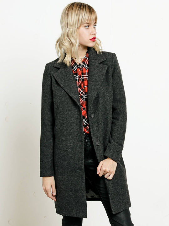 Smart Farce Coat - Black