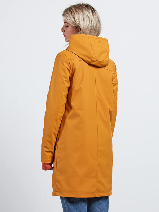 V-Boat Coat Jacket - Mustard