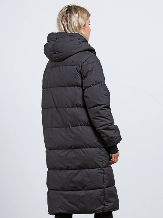 Chillax In Puffa Jacket - Black