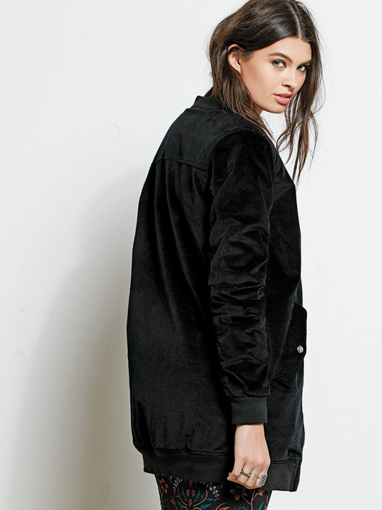 Shir Thing Jacket - Black
