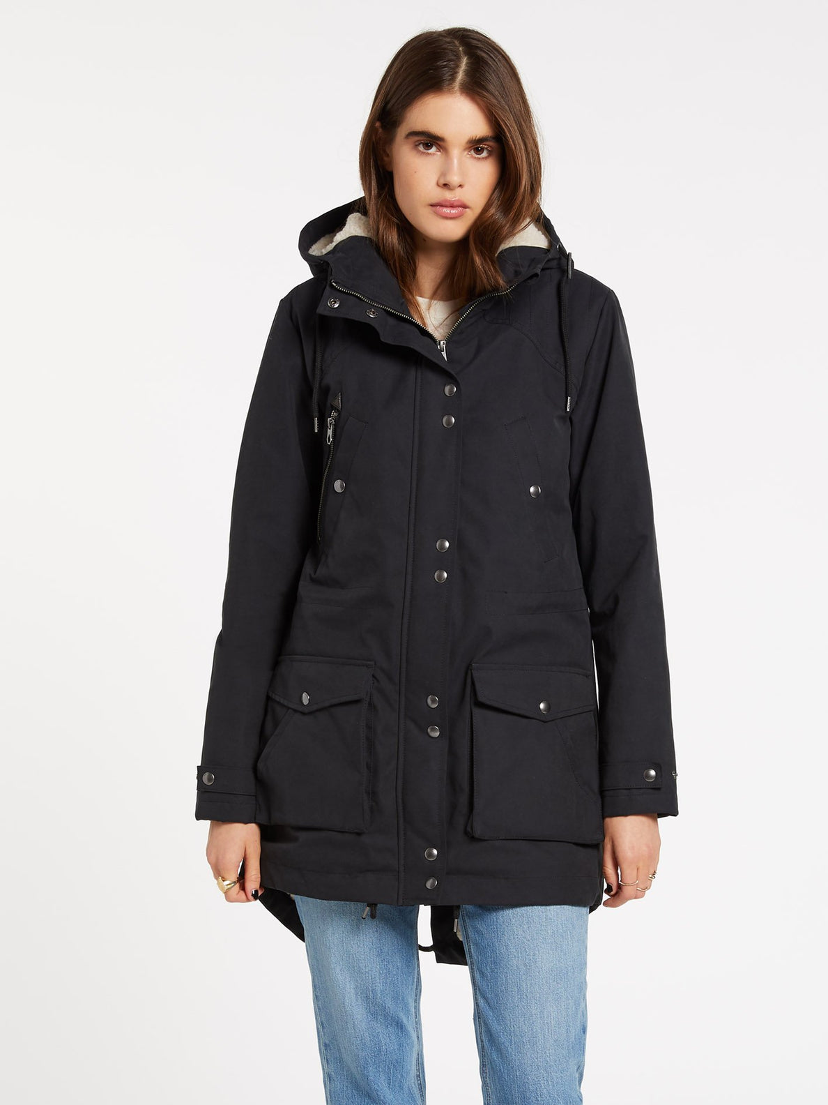 WALK ON BY 5K PARKA (B1732050_BLK) [F]