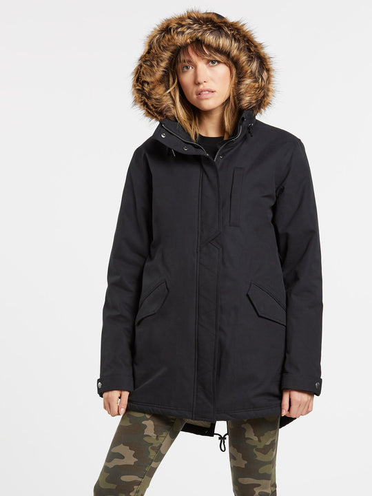LESS IS MORE 5K PARKA (B1732051_BLK) [F]