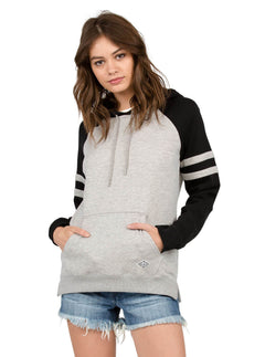 Lived In Color Block Pullover Hoody - Heather Grey