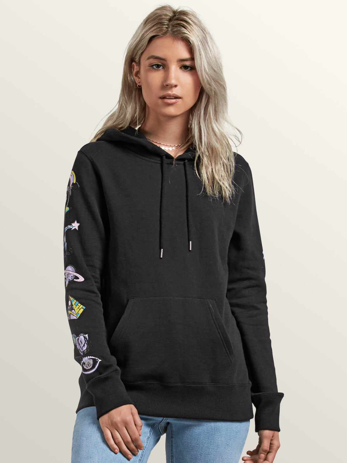 Vol Stone Hoodie Sweater - Black