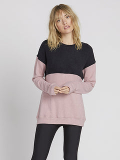 Lil Crew Sweater - Faded Mauve (B3131900_FMV) [F]