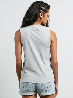 Pure Stoke Tank - Heather Grey