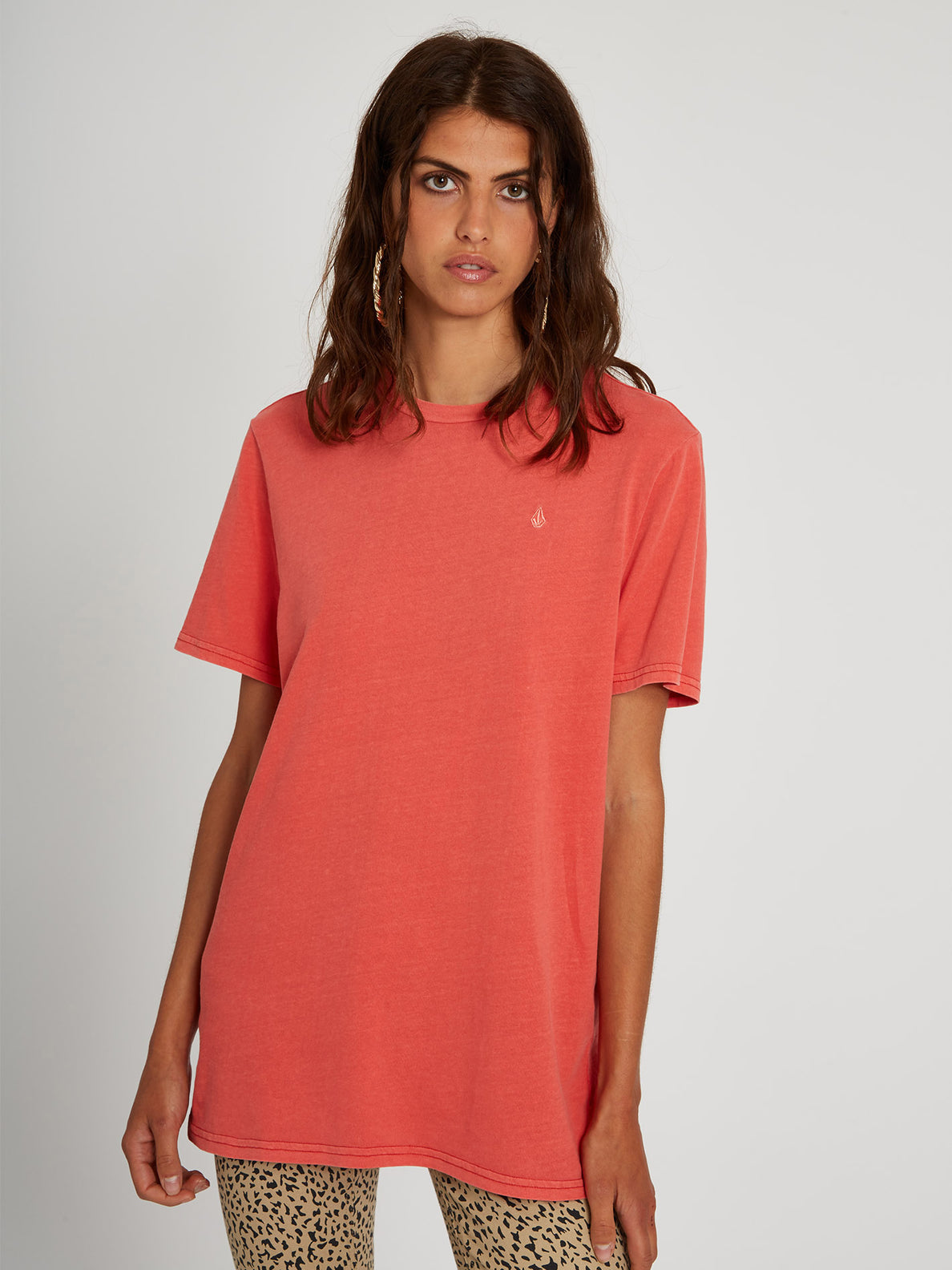 Solid Stone T-shirt - Rosewood (B3512113_ROS) [5]
