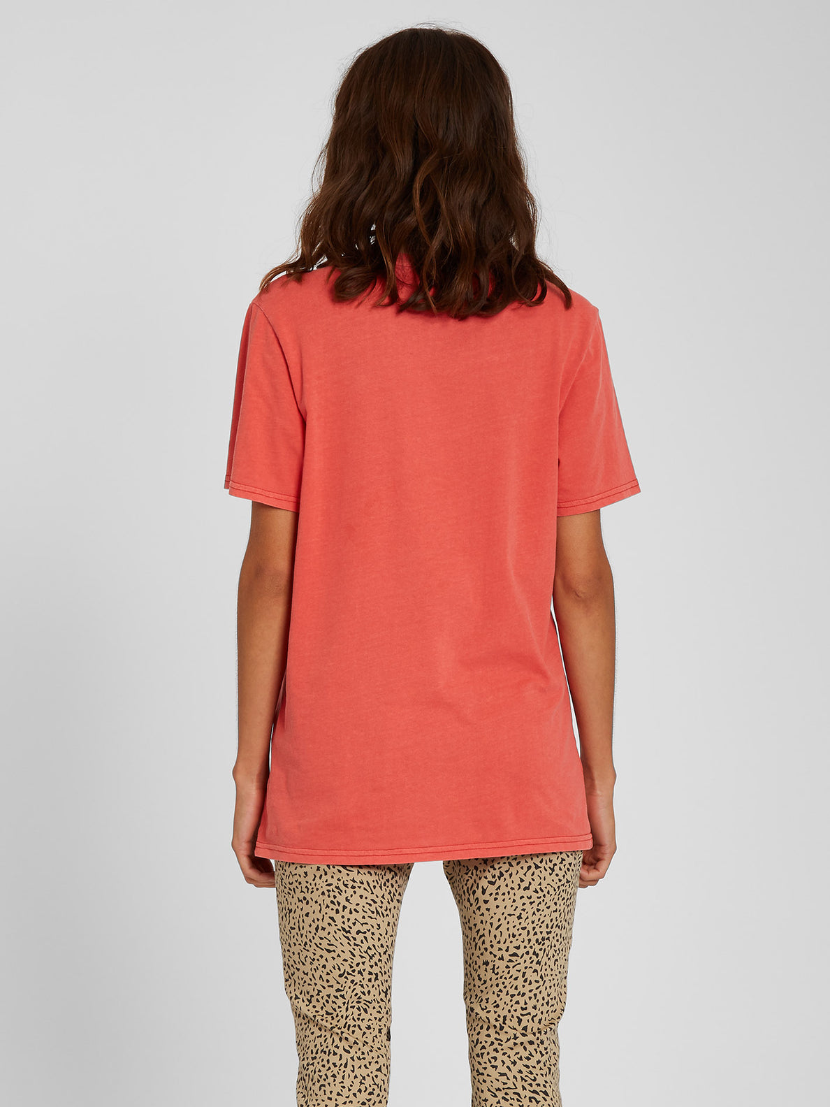 Solid Stone T-shirt - Rosewood (B3512113_ROS) [B]