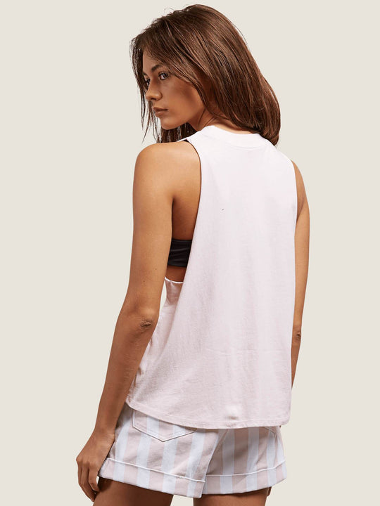 Get High Neck Tank - Light Pink
