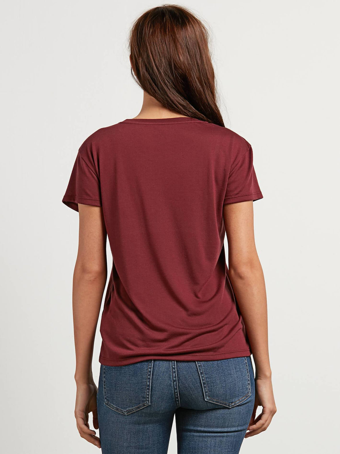 Easy Babe Rad 2 T-Shirt - Burgundy