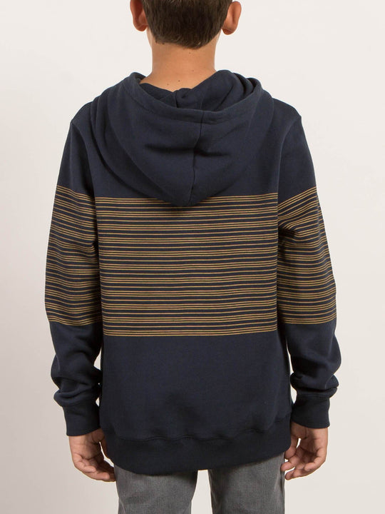 Big Boys Threezy Pullover Hoodie - Navy