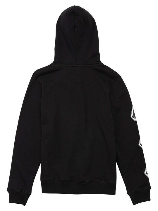 Big Boys Deadly Stones Pullover Hoodie - Black Combo