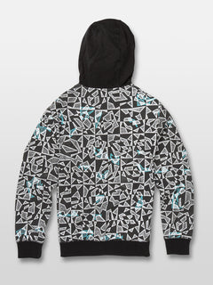 Cool Stone Full Zip Hoodie - Black/White (C4831932_BWH) [B]