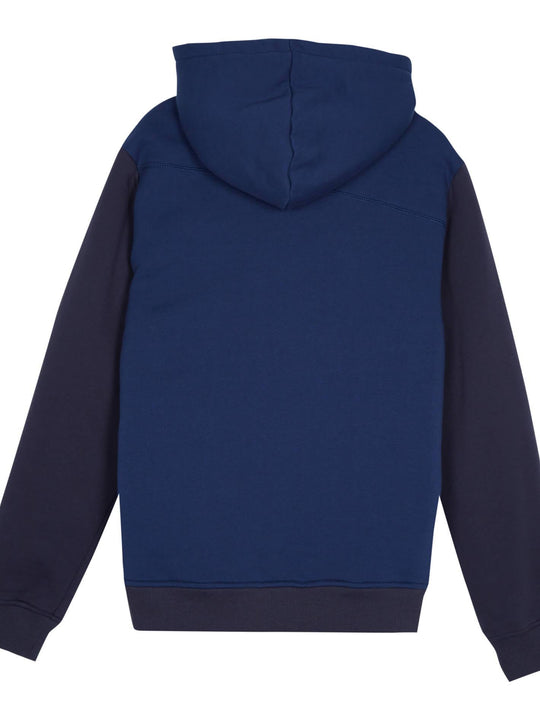 Single Stone Lined Zip Sweaters - Matured Blue