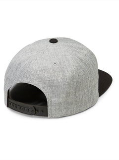 Quarter Twill Hat - Black Grey