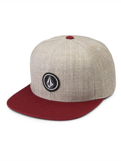 Quarter Twill Hat - Crimson