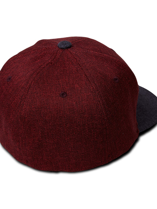 Full Stone Heather XFit Hat - Crimson