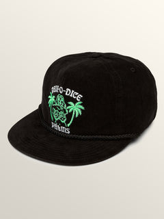Pair-O-Dice Hat - Black
