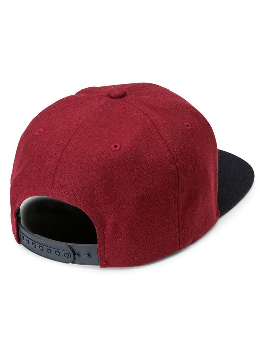 Quarter Fabric Hat - Dark Port