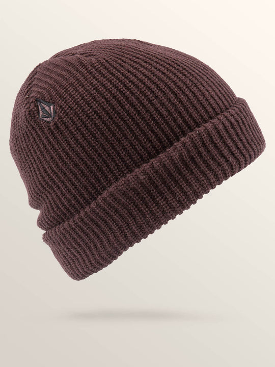 Full Stone Beanie - Bordeaux Brown